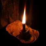 A typical kerosene lamp in the developing world