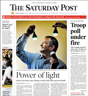 Denver Post Cover Story