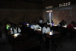 Students in Pure, South Sudan