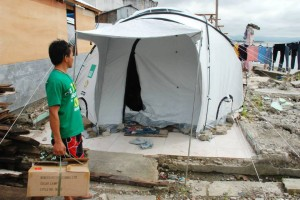 Shelterbox distributed 10,000 N200 solar lights throughout the Philippines