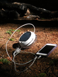 Nokero N222 solar cell phone charger in Colorado
