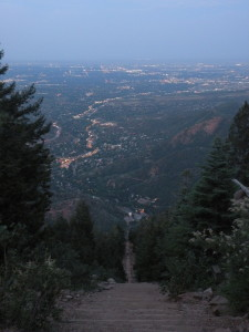 Stay safe on nighttime hikes like the Manitou Incline with solar lights and chargers