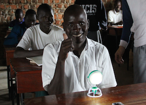 solar lights improve education and literacy rates in South Sudan