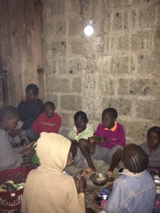 El Shaddai Orphanage Kenya uses solar light